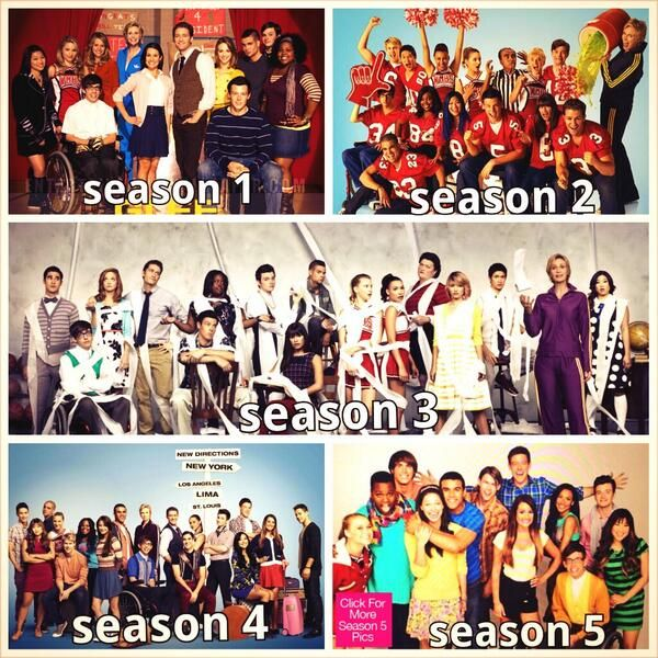glee is my favorite tv show