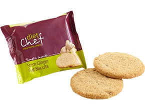 Diet Chef Ginger Oat Biscuits
