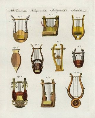 Ancient Greek And Roman Musical Instruments Ancient