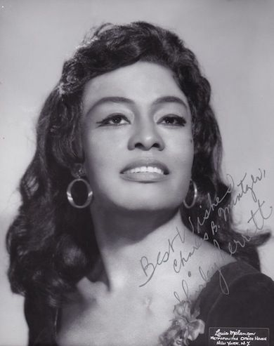 Shirley Verrett, a special voice Date:  Sun, 1931-05-31 Shirley Verrett was born on this date in 1931. She is an African American opera singer and one of the leading sopranos in the world.