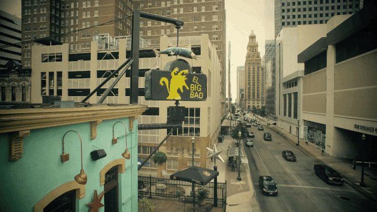 El Big Bad, Downtown, Houston, Texas.