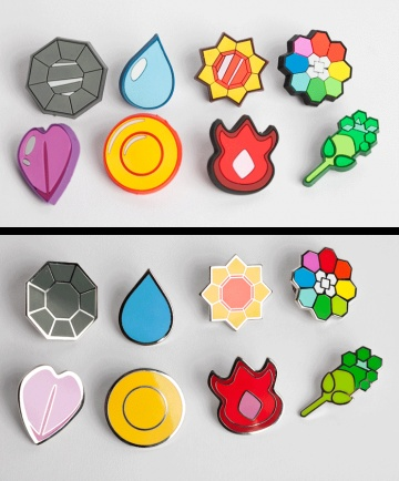 I found 'Set of First Generation Pokemon Gym Badges' on Wish, check it out!
