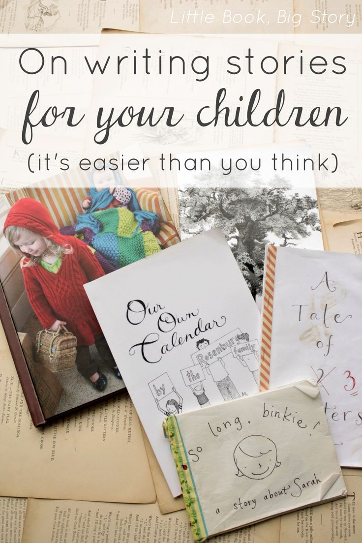 Writing Stories for Your Children