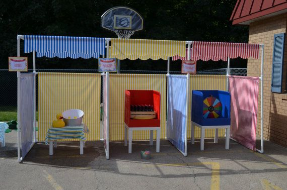 Carnival Booth Pvc Frame Plans Diy Carnival Booths