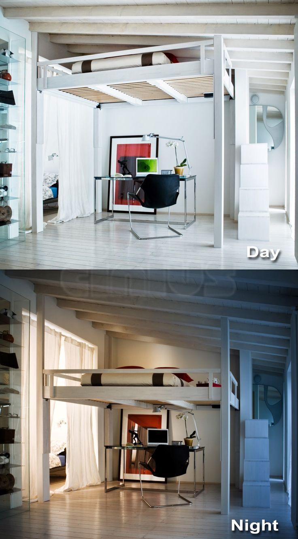 Oltre 25 fantastiche idee su camera da letto a soppalco su for Alla ricerca di 3 camere da letto