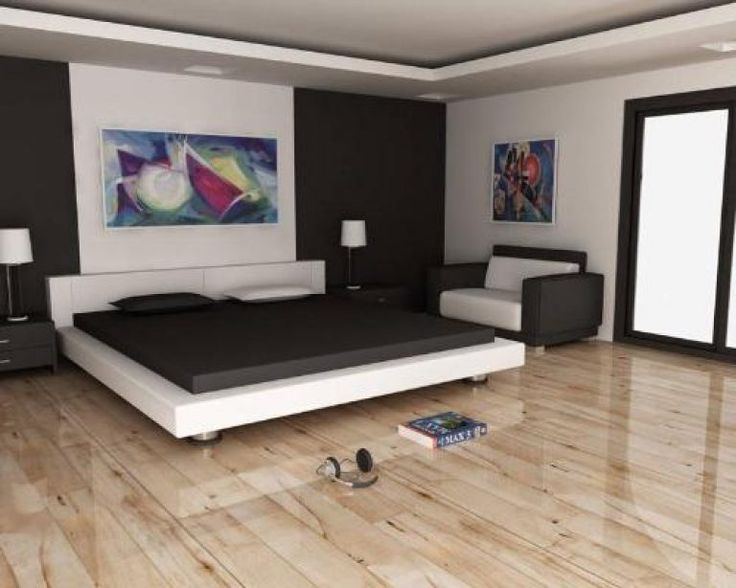 13 best Bedroom wooden floor ideas images on Pinterest ...