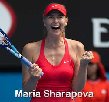 Products Endorsed by Maria Sharapova | Tennis Warehouse