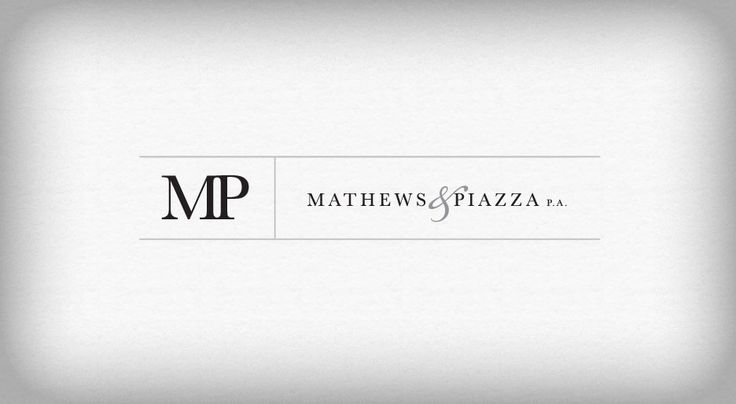 Mathews & Piazza, P.A. located in South Florida, selected TOVO Advertising + Website Design for their new branding package (logo design, business card, stationery) and website design.
