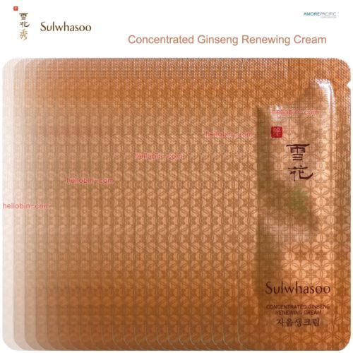 Sulwhasoo Concentrated Ginseng Renewing Cream Amore Pacific Korean Cosmetics New
