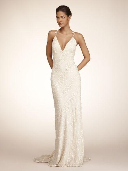 Front of Reva Mivasagar Jasmine Gown | Backless Wedding Dresses