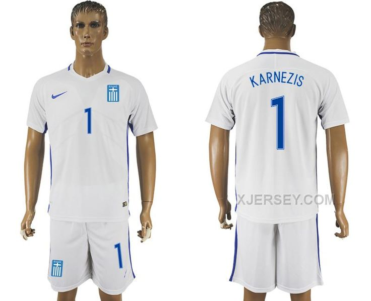 http://www.xjersey.com/201617-greece-1-karnezis-home-soccer-jersey.html 2016-17 GREECE 1 KARNEZIS HOME SOCCER JERSEY Only $35.00 , Free Shipping!