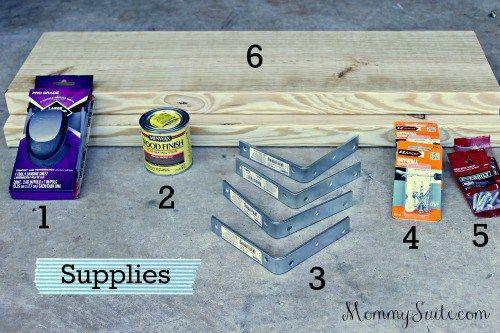 DIY Faux Floating Shelves - Mommy Suite