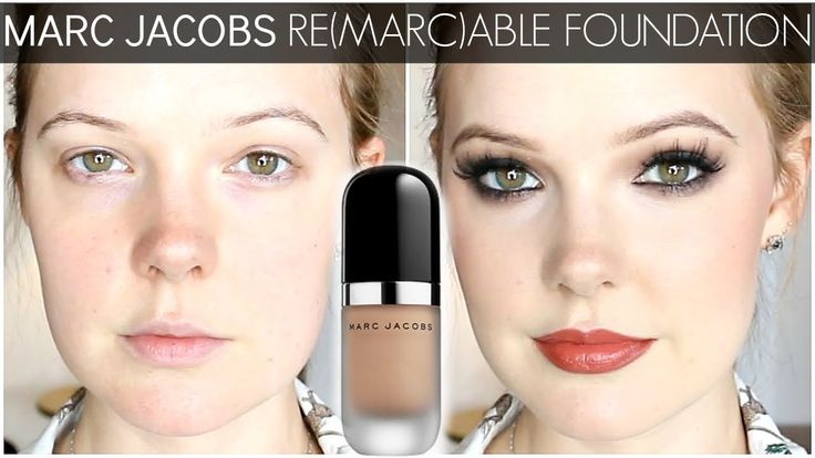 MARC JACOBS REMARCABLE FOUNDATION | REVIEW & DEMO | Beauty ...