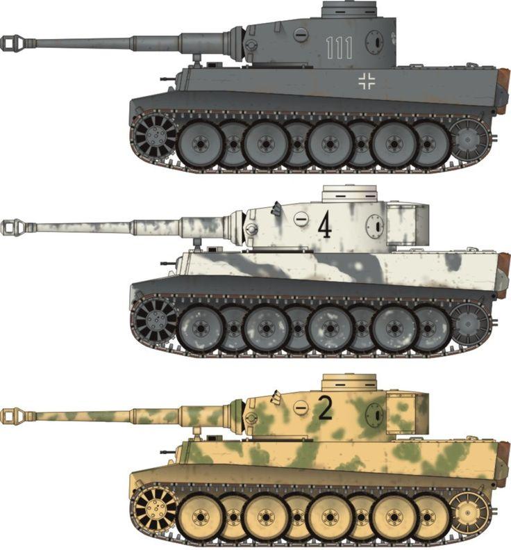 German Tiger.                                                                                                                                                                                 More
