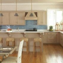 11 best Shore house kitchen images on Pinterest | Blue backsplash ...