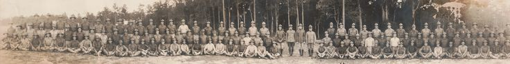LOC 1917. This is a Photograph of soldiers at Camp Joseph E. Johnston.