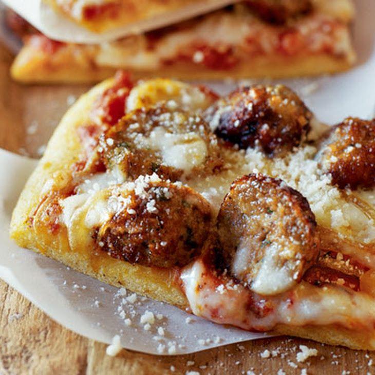 Meatball Pizza Recipe