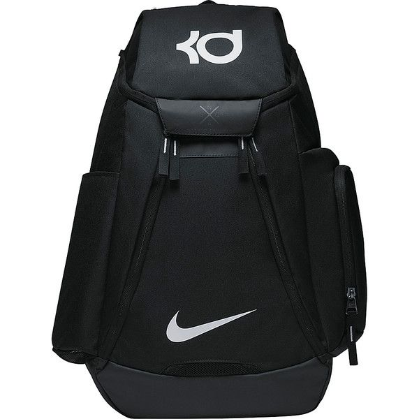 Nike Kd Max Air Elite Backpack ($90) ❤ liked on Polyvore featuring men's fashion, men's bags, men's backpacks, black and nike
