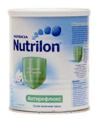 Нутрилон Антирефлюкс смесь сухая молочная для детей 400г  — 994р.  Нутрилон Антирефлюкс – это полноценная адаптированная лечебная детская смесь для вскармливания детей с синдромом срыгивания и рвоты.     Содержит загуститель - камедь бобов рожкового дерева. Способствует лучшему прохождению пищи в кишечник. Высокая эффективность детской молочной смеси Nutrilon Антирефлюкс обусловлена оптимальным количеством загустителя в составе продукта. Пищевые волокна бобов рожкового дерева стимулируют…