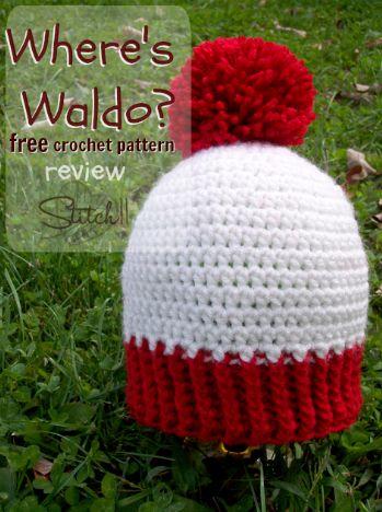 Where's Waldo – free crochet pattern review lol what a cute idea