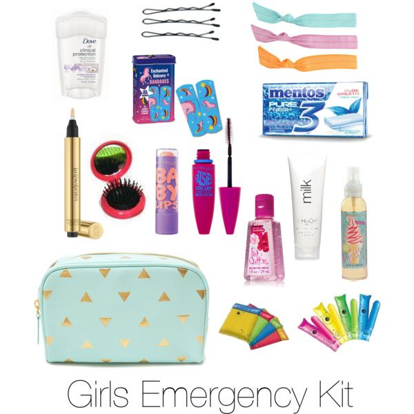 emergency bag for girls - Google Search