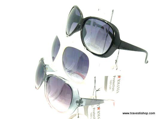 lunettes de soleil travesti