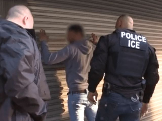 ICE Officers Surrounded by New Yorkers Trying to Protect Alleged Criminal Alien