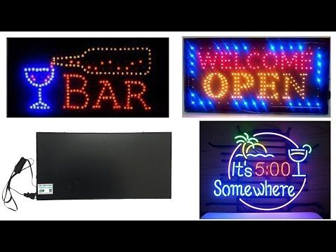 Top 5 Best Neon Signs Reviews 2016, Cheap Neon Signs Lights