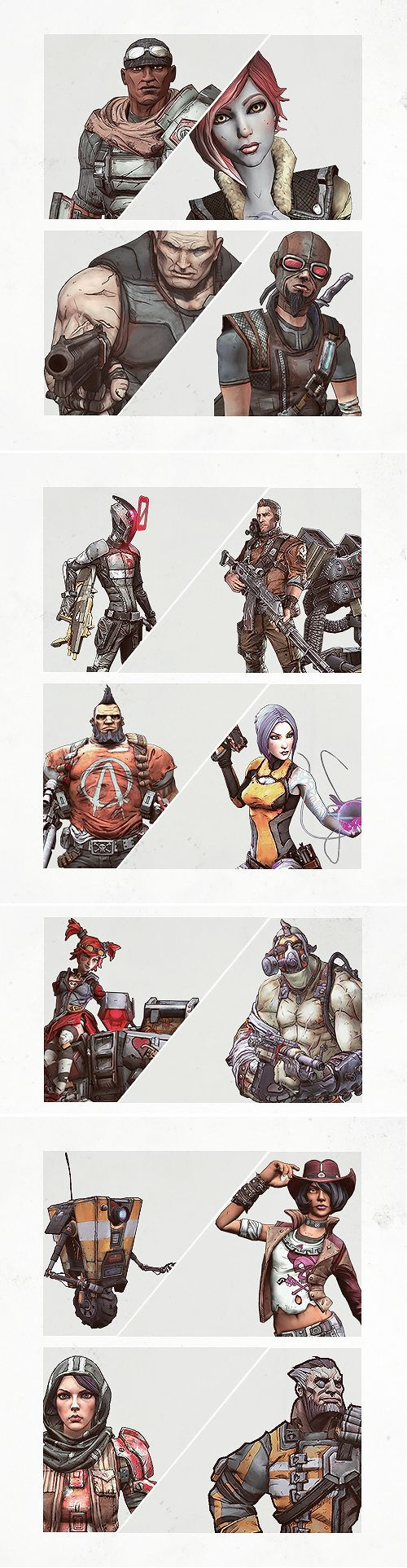 Borderlands The Vault Hunters