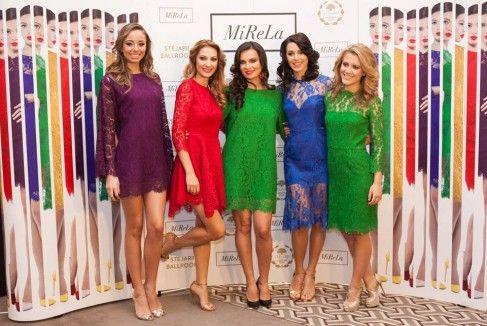 Dantelă fină și culori seducătoare în noua colecție semnată MiReLa Popa (ex Stelea)