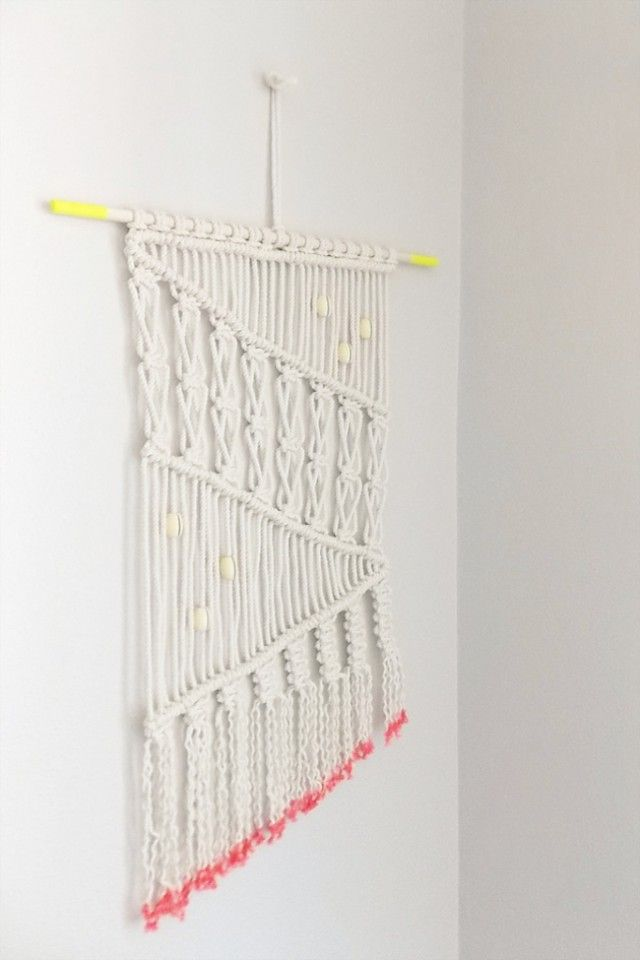 Wall Hanging Picture Diy : Best images about diy macrame on