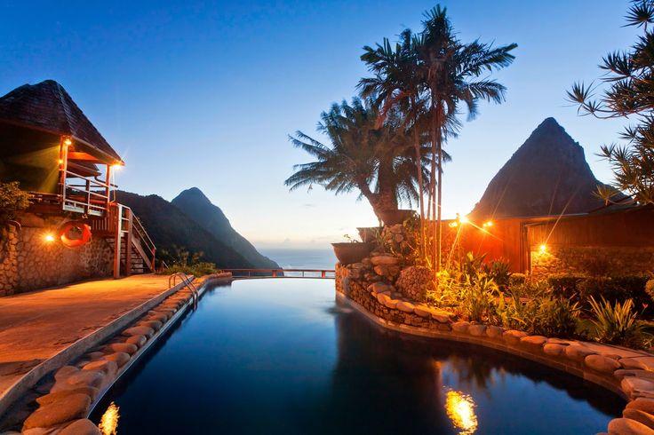 Epic views at Ladera Resort, St. Lucia. #Caribbean