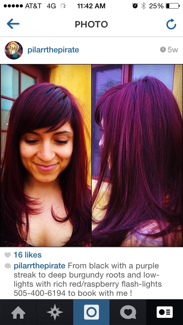 Power Violet Feria Hair Color
