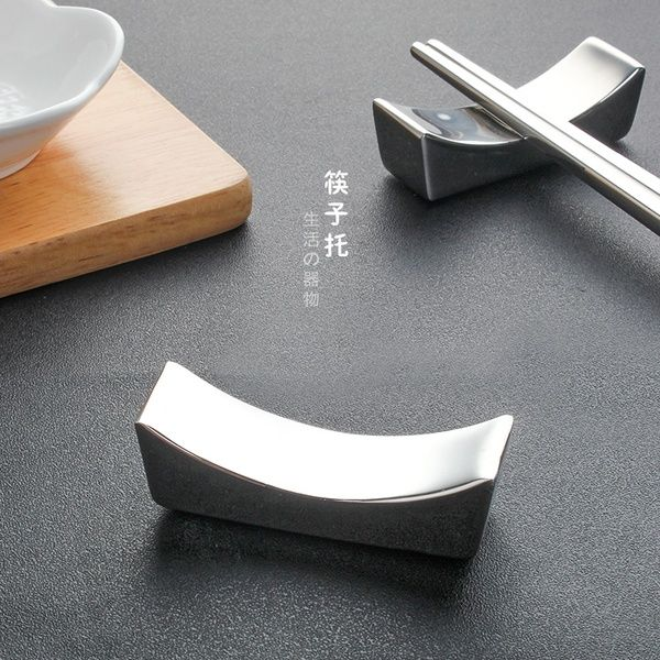 Stainless Steel Chopsticks Rest Rest and Chopsticks Holder Kitchen LIN