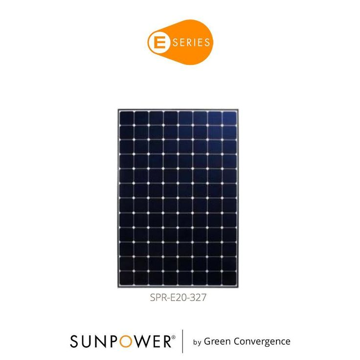 Last week we introduced you to the X-Series Solar Panels. This week say hello to our E-Series Panels. Designed for residential rooftops E-Series panels deliver the features value and performance for any home. #SunPower #GreenConvergence #DemandBetterSolar #Solar #SolarPanel #Design #Residential #Electricity #Power