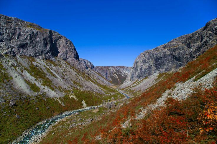 Simms Gulch, Blomidon Mountains, Newfoundland