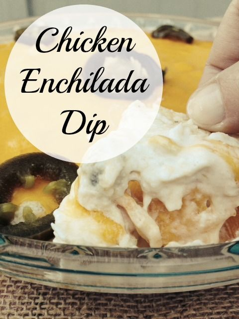 This Chicken Enchilada Dip is a crowd pleaser every time! You will be hooked from the first bite.