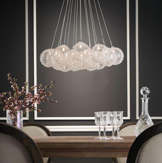 When #luxury meets modernity... | Lorsque #luxe et modernité se rencontrent... #decor #lighting #lumiere