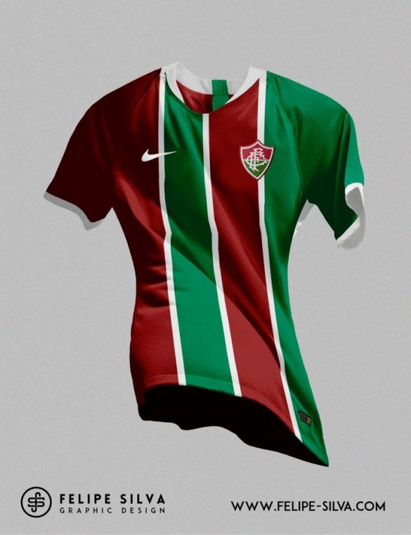 874ef7bbbde3d Leitor MDF  14 Clubes brasileiros vestindo Nike (Felipe Silva ...