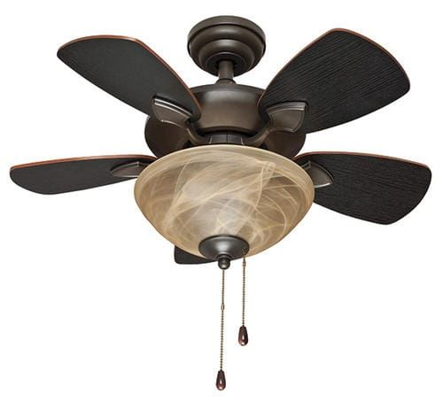 """Turn of the Century® Beverly Place 32"""" Oil-Rubbed Bronze Traditional Ceiling Fan at Menards®: Turn of the Century® Beverly Place 32"""" Oil-Rubbed Bronze, Traditional Ceiling Fan"""