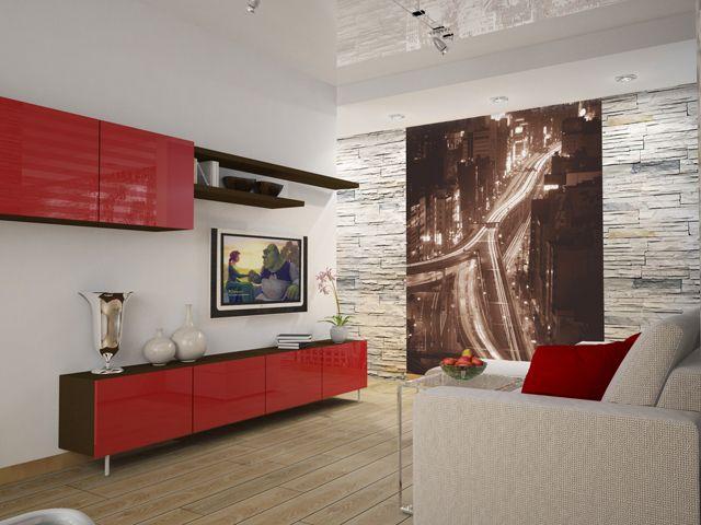 Decorative Stone In Living Room| Design U0026 DIY Magazine