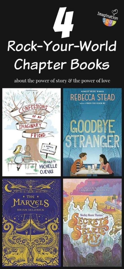 four amazing middle grade books that are so powerful, they'll change your life! Great for read alouds and discussion.
