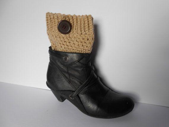 Crochet boot cuff. Women's boot socks. Boot Cuffs. by AluraCrafts