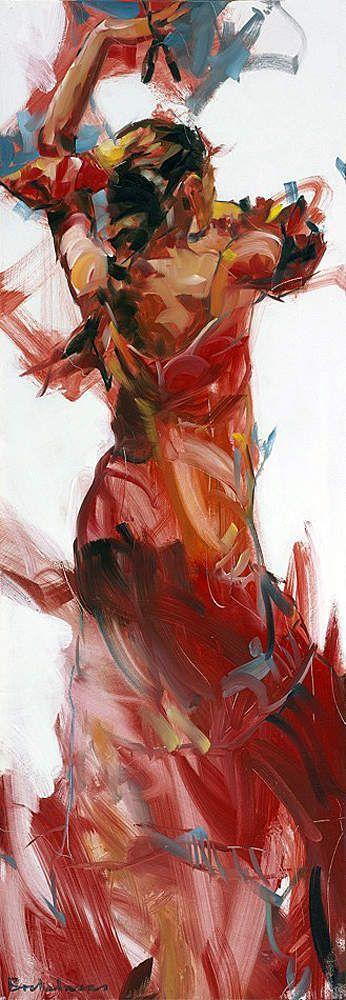 Le FLAMENCO  vu par : Dorus BREKELMANS 01 / Final dance 2012