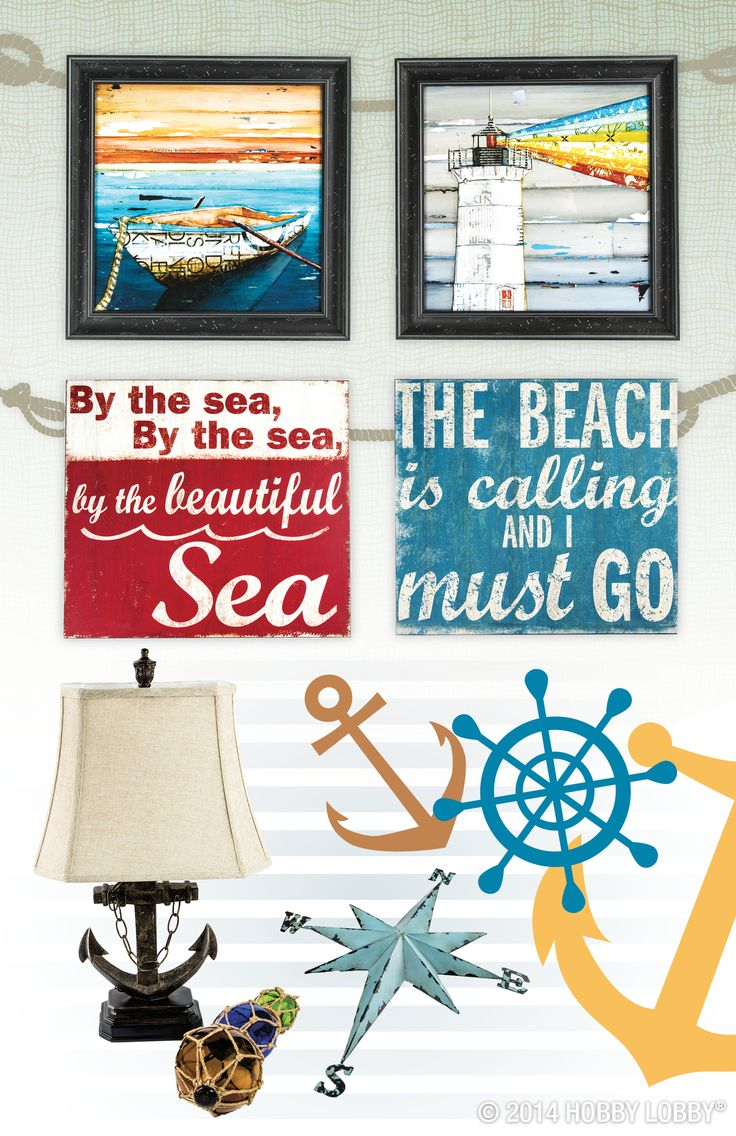 Catch A Wave Of Style With This Nautical And Beach Themed Decor!