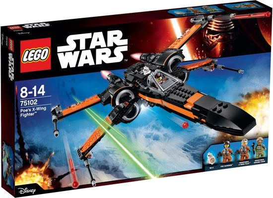 LEGO Star Wars Poe's X-Wing Fighter - 75102