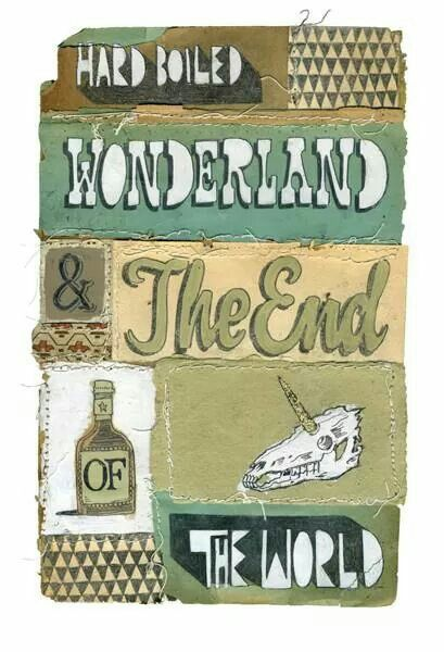 hard boiled wonderland and the end Hard boiled wonderland and the end of the world is really two separate narratives: hard boiled wonderland and the end of the world are two seperate stories, told in alternate chapters of this delightful novel.