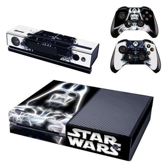 Star Wars Vinyl Skin Cover Stickers Decal For Xbox One Console & Kinect & 2 Controller