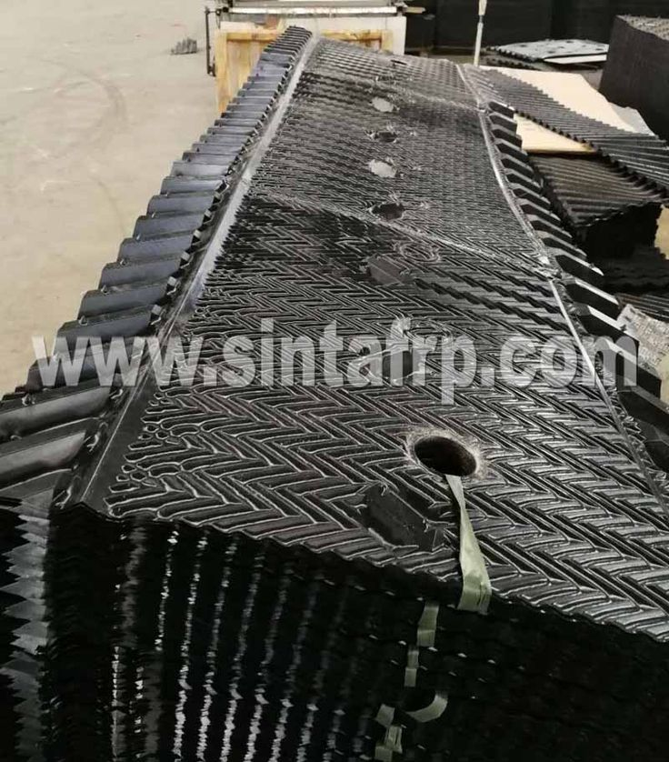 cooling tower fill material