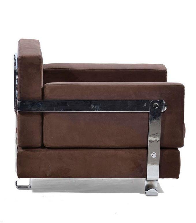 Luigi Caccia Dominioni; 'Fasce Cromante' Lounge Chair for Azucena, 1963.